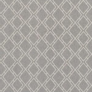 Geometric Wilton style wool carpet for residential and commercial use, in ZInc colorway.