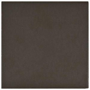 Ceramic Quarry Trim Tile in Edge Black colorway