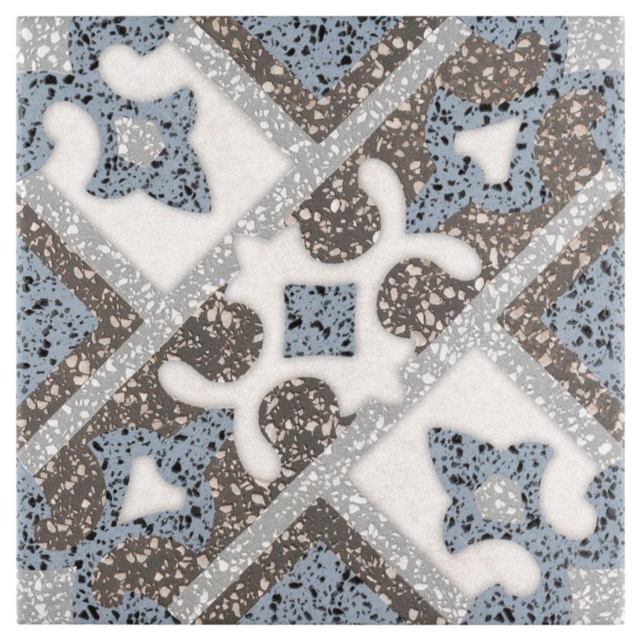 Porcelain Tile in Palazzo Capri colorway