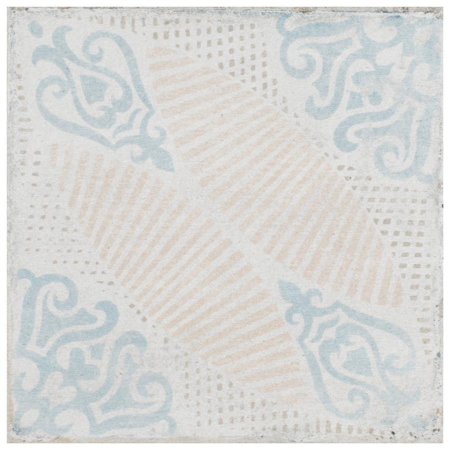 Porcelain Tile in Decor Guell colorway