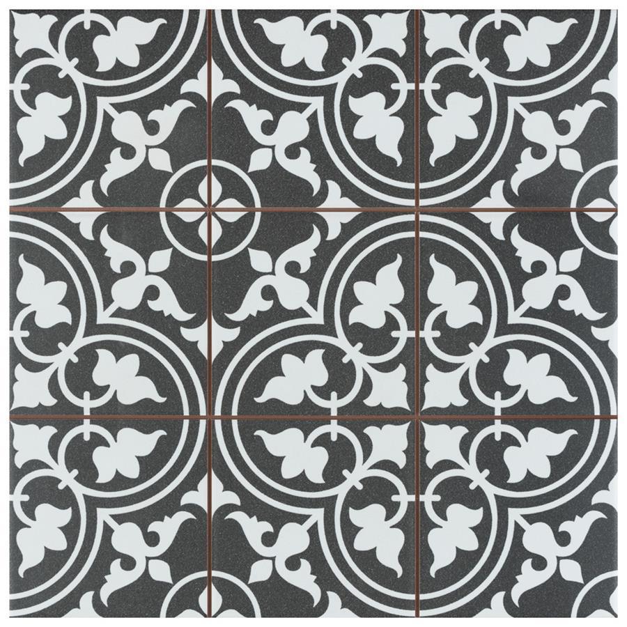 Ceramic Tile in Classic Black colorway