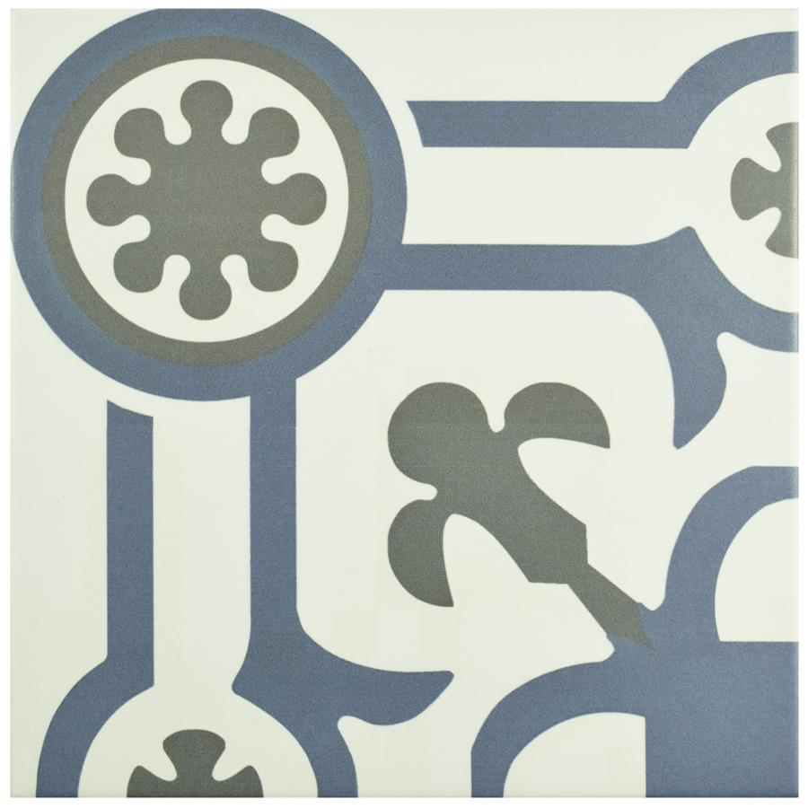 Porcelain Tile in Angulo colorway