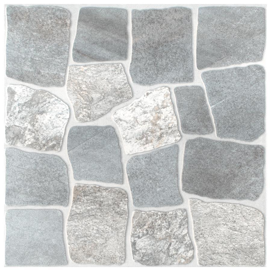 Ceramic Tile in Gris colorway