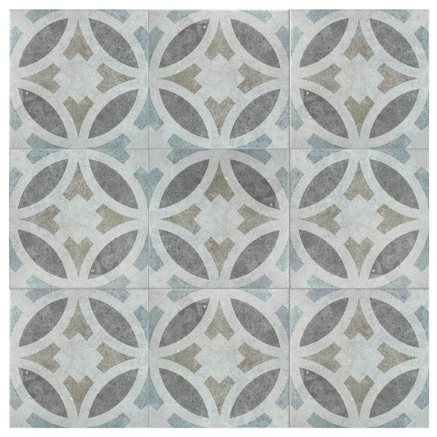 Ceramic Tile in Perla Toledo colorway