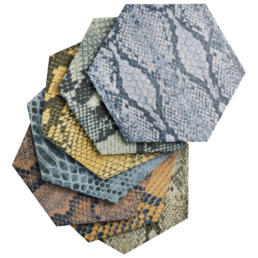 Porcelain Tile in Hex Colors Mix colorway