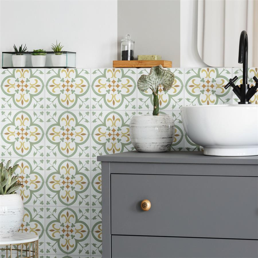 Ceramic Tile in Mini Memory collection