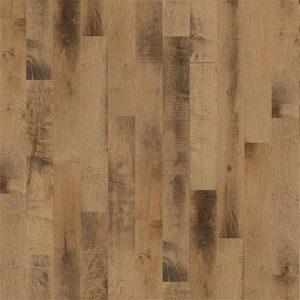 Hardwood Flooring in Caramel Colorway Maple