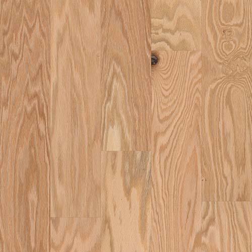 Hardwood Flooring in Rustic Natural Colorway Red Oak