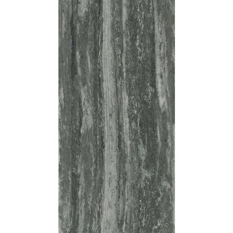 I -Travertini Black Glossy 16 x 32 Porcelain Tile