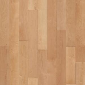 Hardwood Flooring in Natural Colorway Maple