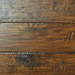 Hardwood Flooring in Sienna Colorway Hickory