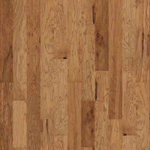 Hardwood Flooring in Rawhide Colorway Hickory