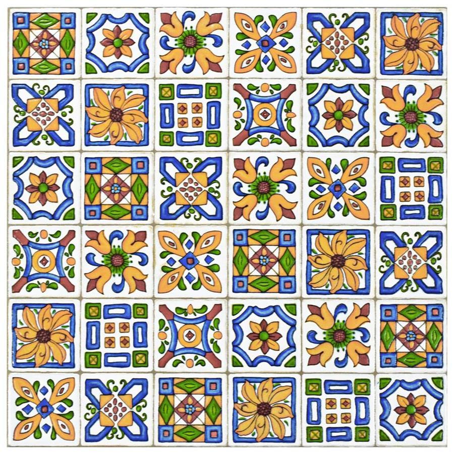 Ceramic Tile in Der Farbe colorway