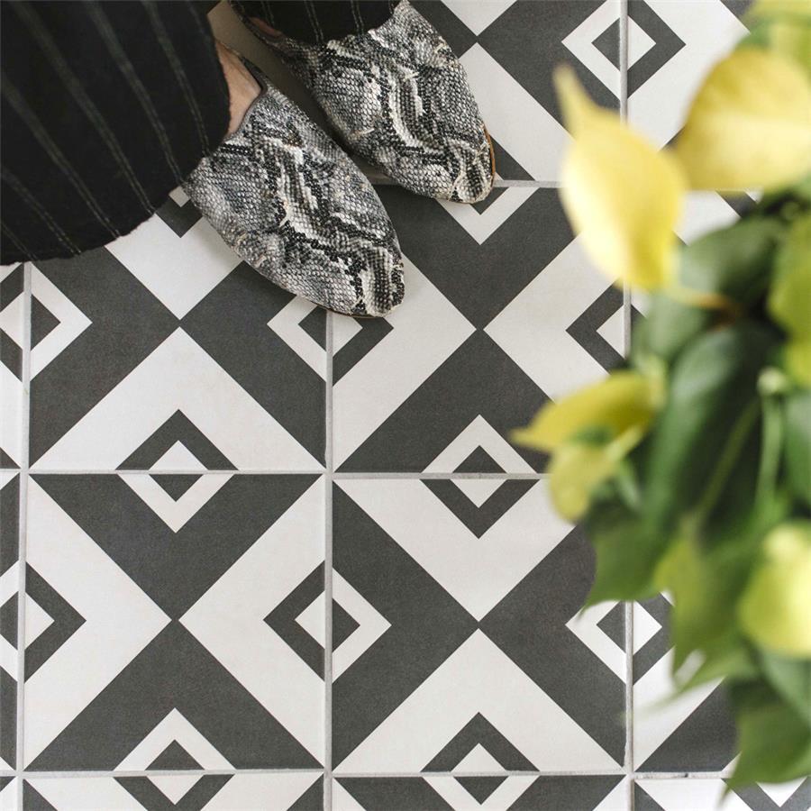 Ceramic Tile in Vertex pattern