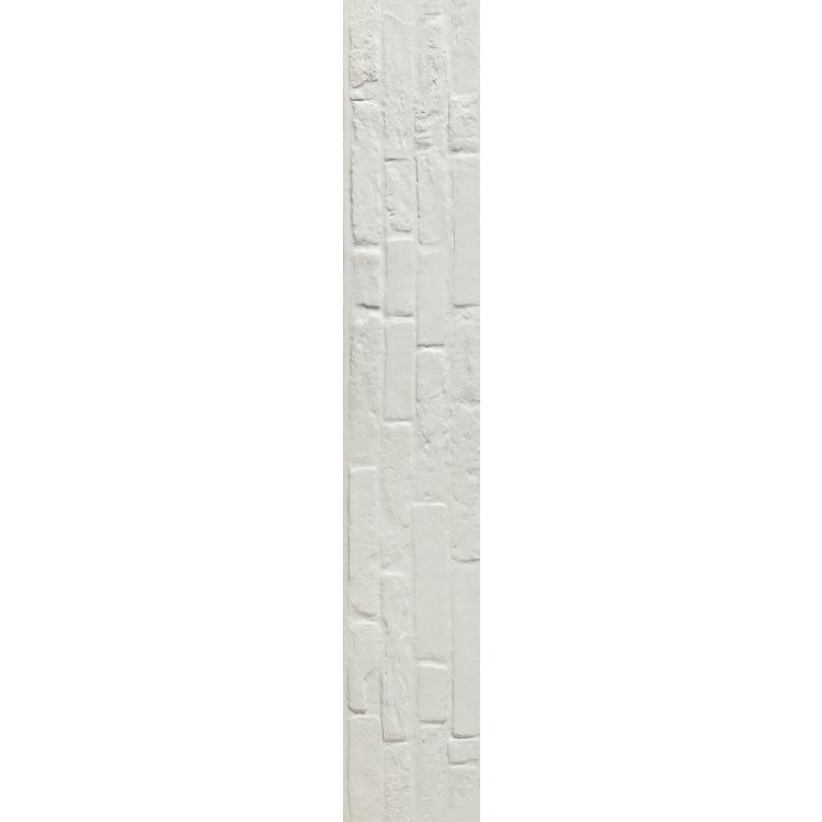 Plain Brick White 10 x 60 Porcelain Tile