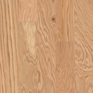 Hardwood Flooring in Natural Colorway Red Oak