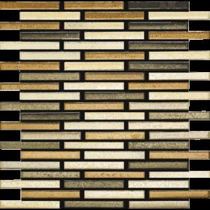 Wheat 11 x 12.5 Mosaic Tile