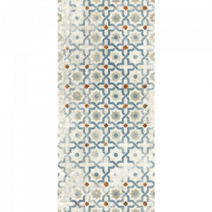 18x47 Porcelain tile in Grunge Decor colorway