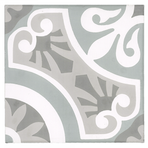 8x8 Cement tile in Berkeley colorway