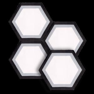 "8"" Cement tile in Brookdale Hexagon colorway"