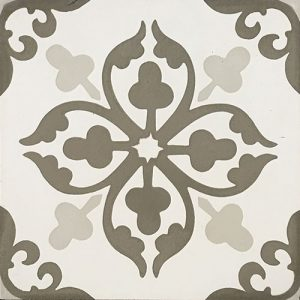 8x8 Cement tile in Cosette colorway