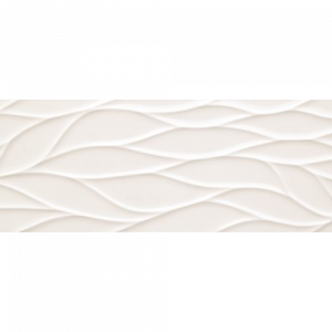 12x36 Porcelain tile in Surge Blanco colorway