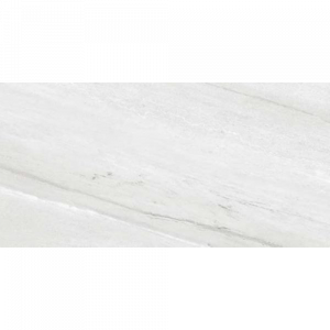12x24 Porcelain tile in Thassos Gris Polished colorway