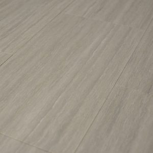 16x16 Porcelain tile in Travertine Platinum Vein Cut Honed colorway