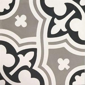 8x8 Cement tile in Veneta colorway