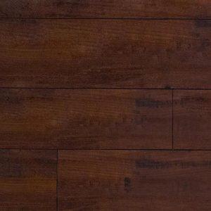 Laminate flooring in Walnut Harrington colorway