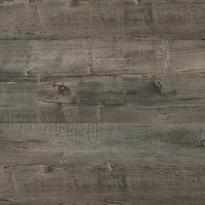 Laminate flooring in Cathedral Grey colorway