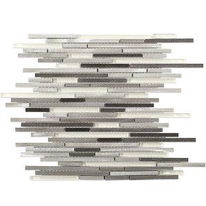 Aluminum Stiletto Ice Nero Tile