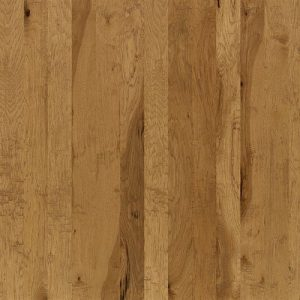 Hardwood flooring in Prairie Dust colorway