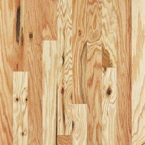 Hardwood flooring in Natural colorway