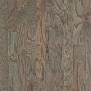 Hardwood flooring in Weathered colorway